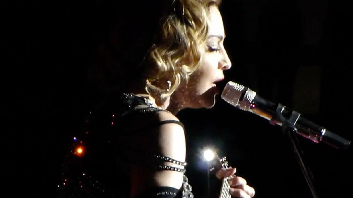 VIDEO Madonna chante La vie en rose en hommage aux victimes des attentats de Paris