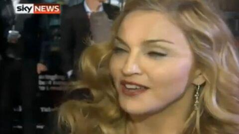 Madonna huée à Londres pour son nouveau film