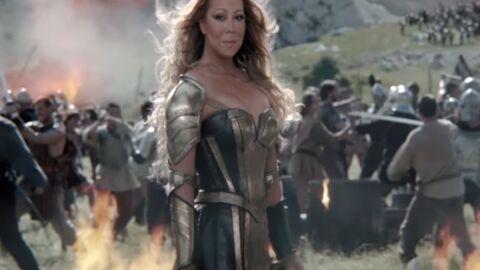 VIDEO Mariah Carey en mode Xena la guerrière pour une pub WTF