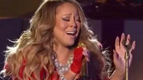 VIDEO Mariah Carey se plante complètement sur sa prestation de Noël