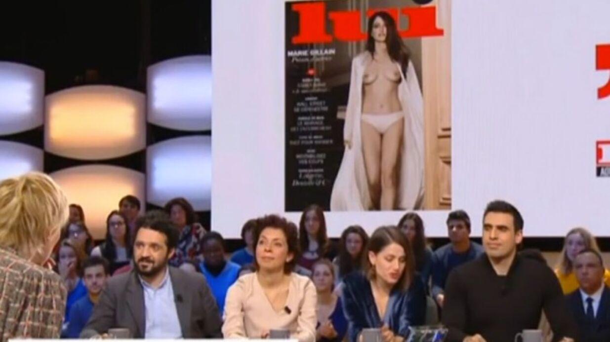 VIDEO Marie Gillain ne veut plus entendre parler de sa une topless pour Lui