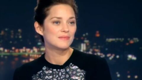 VIDEO Marion Cotillard déplore une « question de m***e » en plein JT de 20h