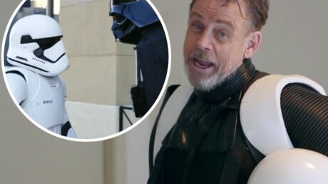 VIDEO Déguisé en Stormtrooper, Mark Hamill piège les fans de Star Wars