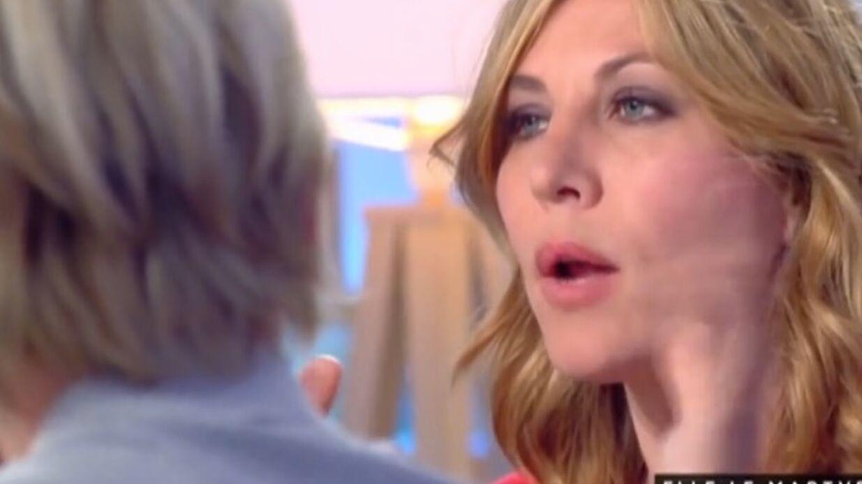 VIDEO Mathilde Seigner arrête Sam: la mort de la réalisatrice l'a confortée dans son choix