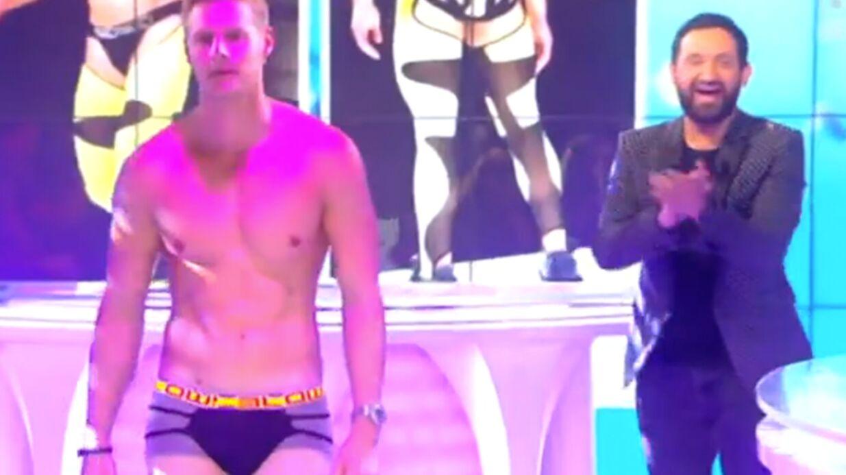 VIDEO Matthieu Delormeau obligé de défiler en boxer moulant dans Touche pas à mon poste