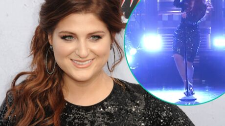 VIDEO L'incroyable chute de Meghan Trainor à la télé