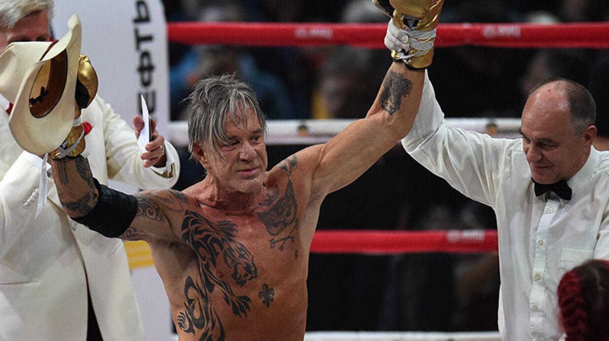 VIDEO Mickey Rourke: son incroyable victoire face à un boxeur professionnel