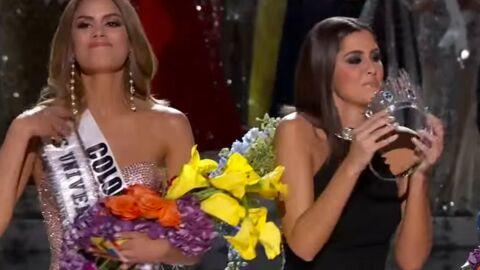 VIDEO Miss Univers 2015: le présentateur couronne la mauvaise gagnante, gros malaise