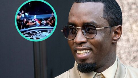 VIDEO P.Diddy chute sur scène pendant son show