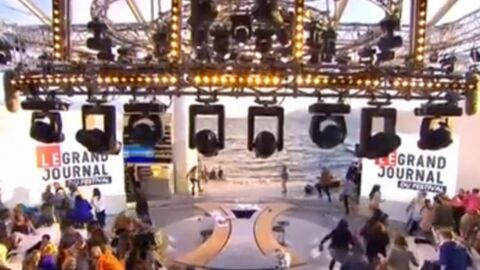 VIDEO Cannes : le plateau du Grand Journal évacué à cause de coups de feu