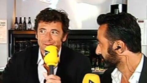 VIDEO Patrick Bruel donne une interview à i-Télé avec… un film érotique en fond