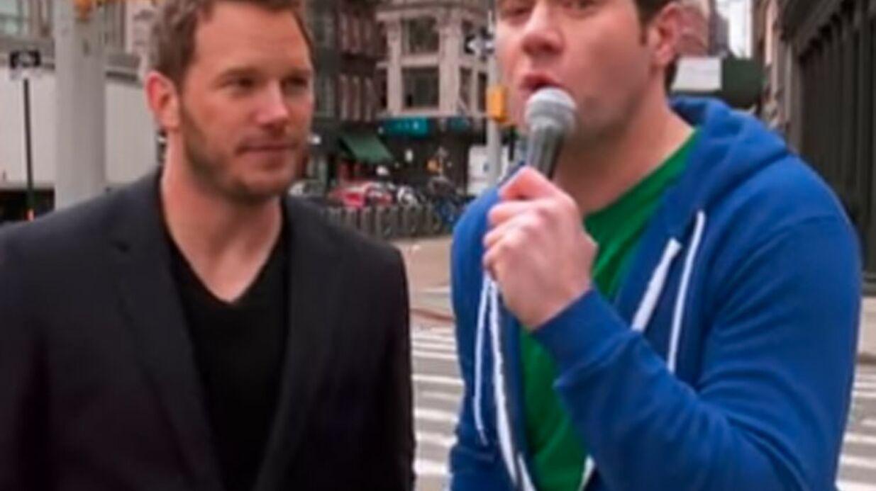 VIDEO Chris Pratt présenté à des passants, mais personne ne le reconnaît!