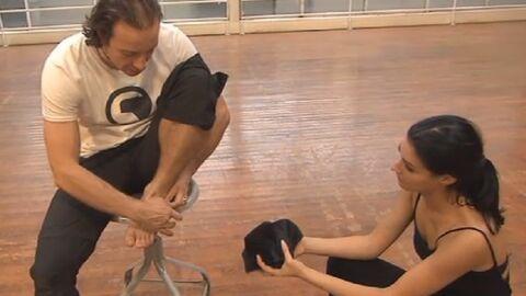 VIDEO Danse avec les stars: Philippe Candeloro blessé à la cheville