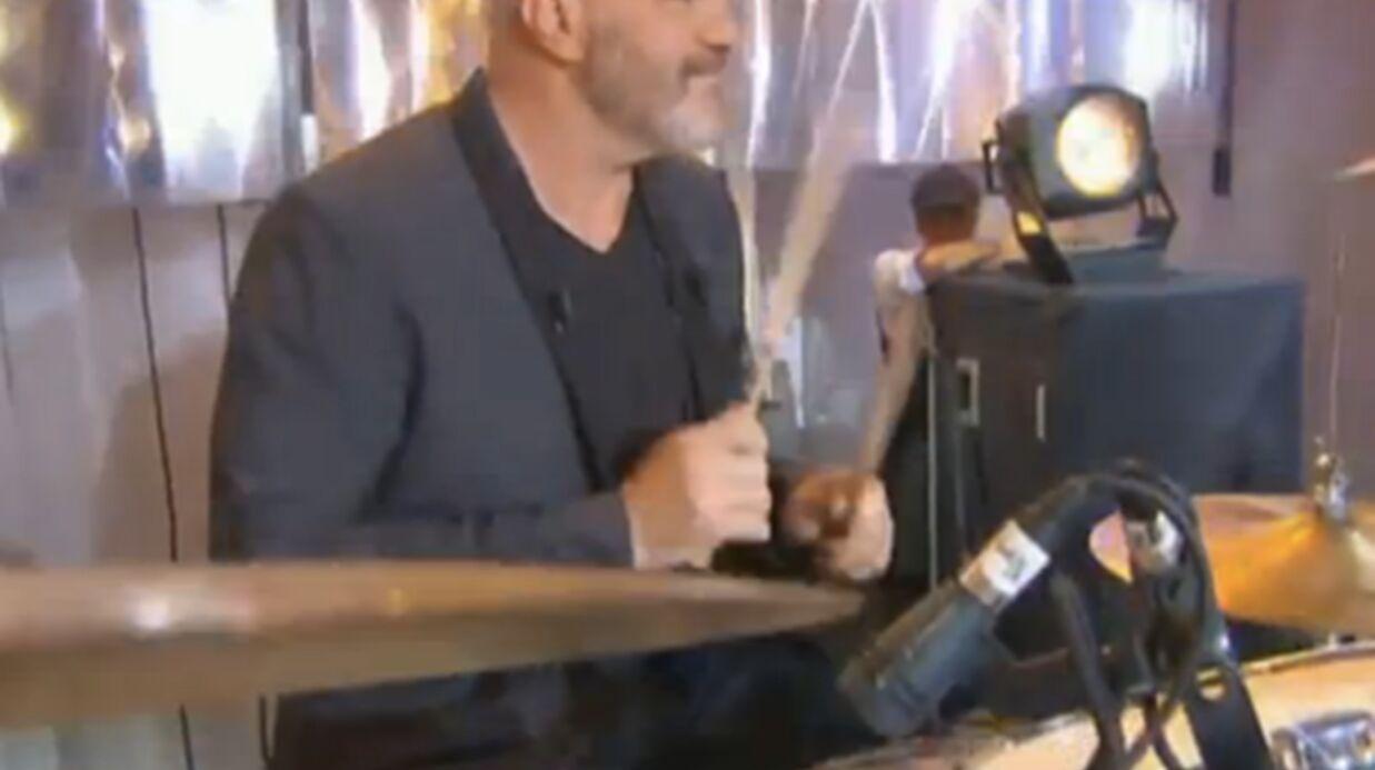 Philippe Etchebest reprend Nirvana à la batterie chez Thierry Ardisson!