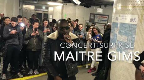 Quand Maître Gims improvise un concert surprise dans le métro