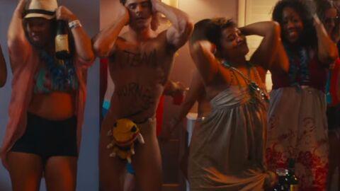 VIDEO Zac Efron danse la Macarena tout nu dans la bande-annonce de Dirty Grandpa
