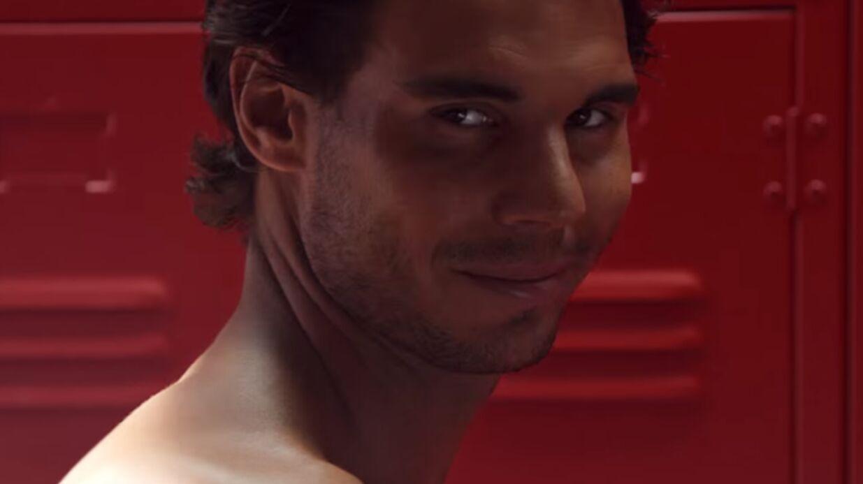 VIDEO Rafael Nadal ultra sexy et presque nu pour des sous-vêtements Hilfiger
