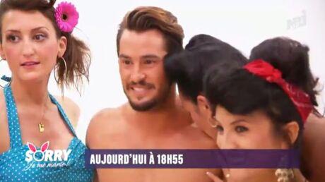 VIDEO Rémi Notta (Secret Story) se fait tripoter par des futures mariées sur NRJ 12