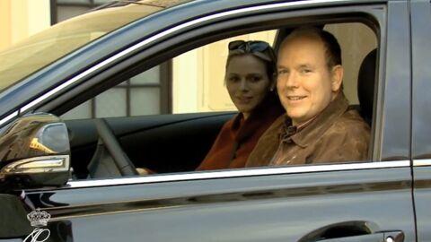 VIDEO Charlène et Albert de Monaco: leur arrivée au Palais avec les jumeaux!