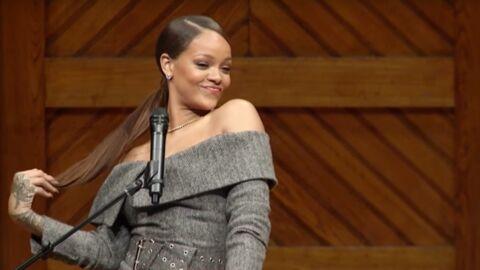 VIDEO Rihanna distinguée par l'université de Harvard: elle livre un émouvant discours