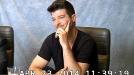 VIDEO Dans une déposition, Robin Thicke avoue qu'il était «défoncé et saoul» durant toutes ses interviews de 2013