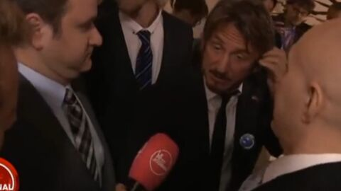 VIDEO Sean Penn explique pourquoi il adore François Hollande