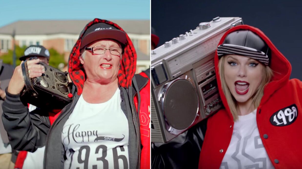 VIDEO Taylor Swift : des retrai­tés de 80 ans rejouent son clip Shake It Off et c'est hyper cool