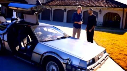 VIDEO Tony Parker: sa femme lui a offert la voiture de Retour vers le futur!
