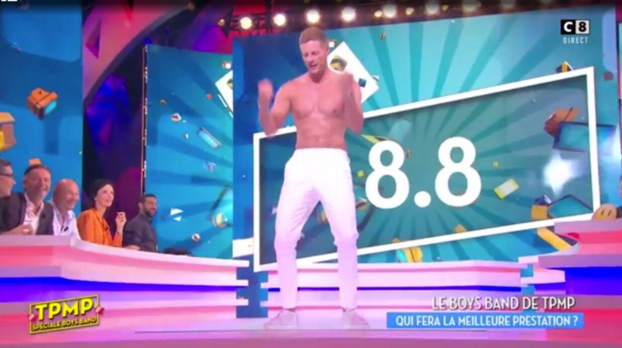 VIDEO Torse nu, Matthieu Delormeau danse à la perfection sur Partir un jour des 2Be3