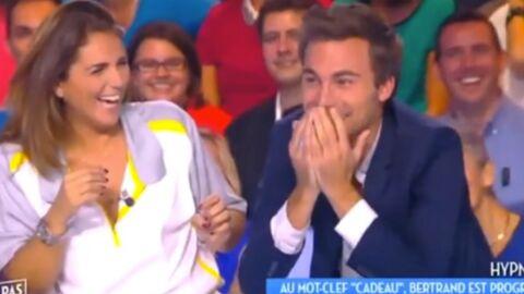 VIDEO Hypnotisé, Bertrand Chameroy voit les gens tout nus