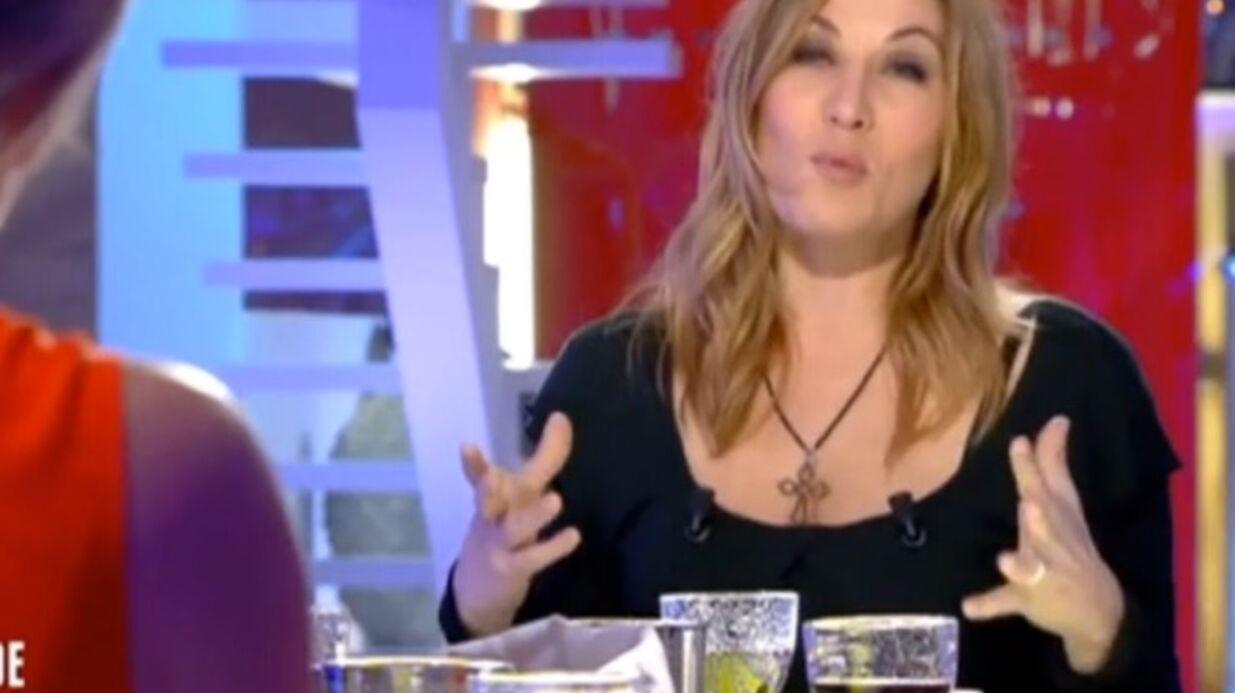 VIDEO «Très aimée de la police», Mathilde Seigner en profite