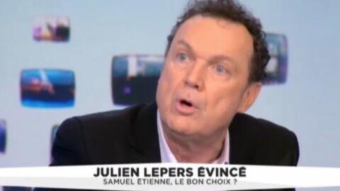 VIDEO Dégoûté, Julien Lepers décrit son éviction comme un «scénario pervers»
