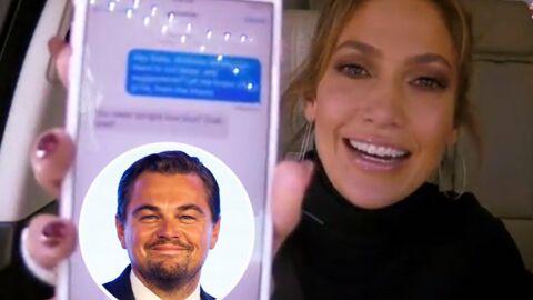 Un animateur subtilise le portable de Jennifer Lopez et envoie un SMS coquin à DiCaprio: il répond