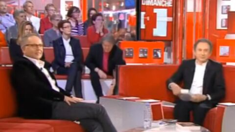 VIDEO Michel Drucker: quand une souris sème la zizanie sur le plateau de Vivement Dimanche