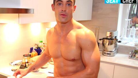 VIDEO Valentin Néraudeau (Top Chef) vous propose des tutos cuisine presque nu