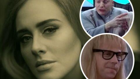 VIDEO Adele: la reprise hilarante de son tube Hello à partir de répliques de films