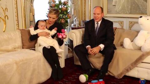 VIDEO Albert et Charlène de Monaco présentent leurs jumeaux comme vous ne les avez jamais vus