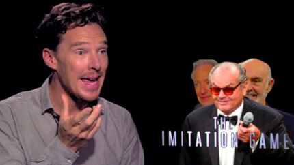 VIDEO Benedict Cumberbatch dévoile un étonnant talent d'imitateur