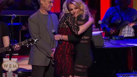 VIDEO Britney Spears débarque au concert de sa sœur et la fait fondre en larmes