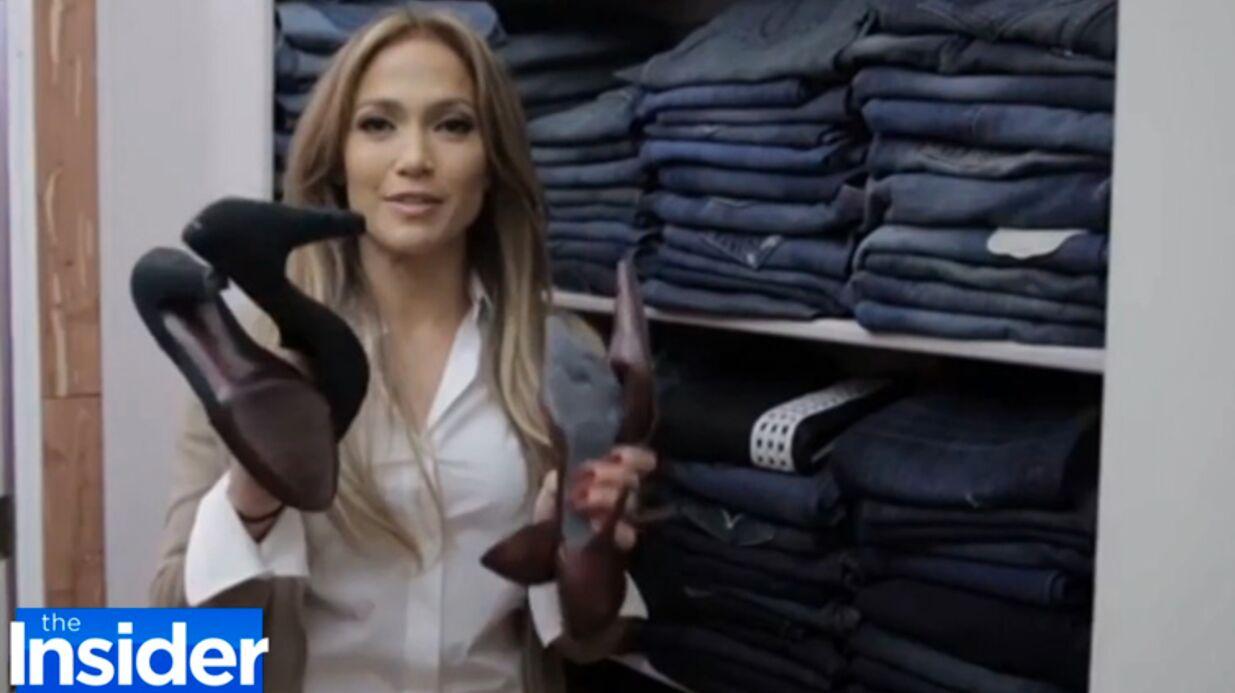 VIDEO Découvrez le dressing plus grand qu'un appartement de Jennifer Lopez