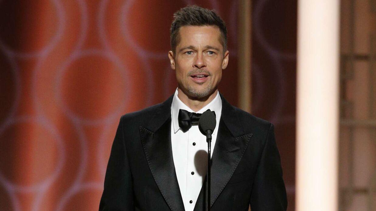 VIDEO Golden Globes: Brad Pitt, plus beau que jamais, a été très chaleureusement applaudi