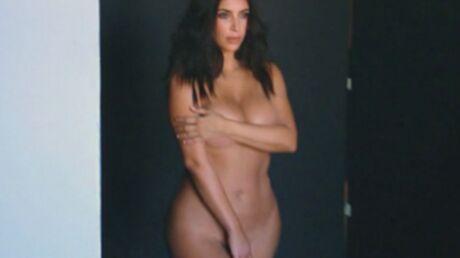VIDEO Kim Kardashian complètement nue pour une vidéo souvenir