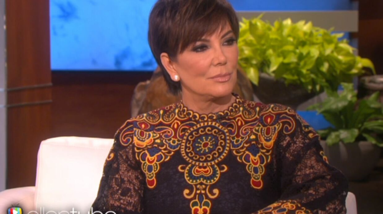 VIDEO Kris Jenner réagit aux tweets intem­pes­tifs de Kanye West : « J'ai envie de le gron­der »