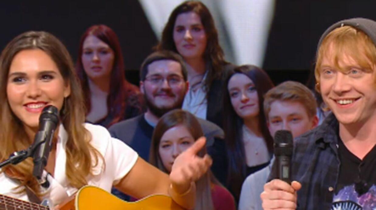 VIDEO L'étonnant duo musical de Rupert Grint (Harry Potter) et Joyce Jonathan