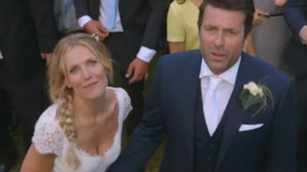 VIDEO La vidéo du mariage très musical de Sandrine Corman