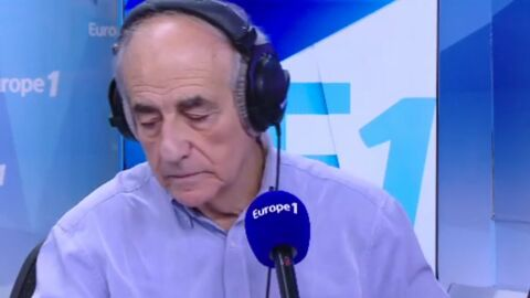 VIDEO Les touchants adieux de Jean-Pierre Elkabbach à la Matinale d'Europe 1