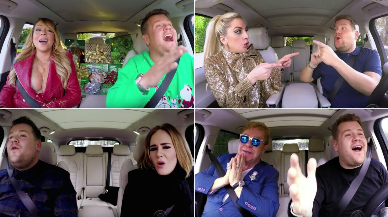 VIDEO Mariah Carey, Lady Gaga, Elton John et une foule de people chantent All I Want for Christ­mas
