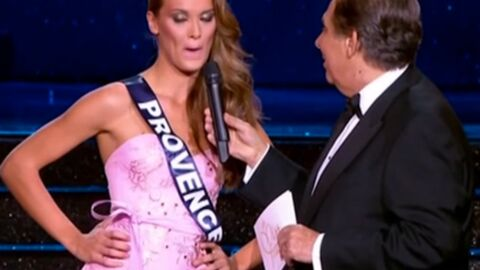 VIDEO Miss France 2015 : Miss Provence attribue son terrible cafouillage à Jean-Pierre Foucault