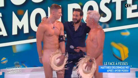 VIDEO Touche pas à mon poste: Matthieu Delormeau finit entièrement nu sur le plateau