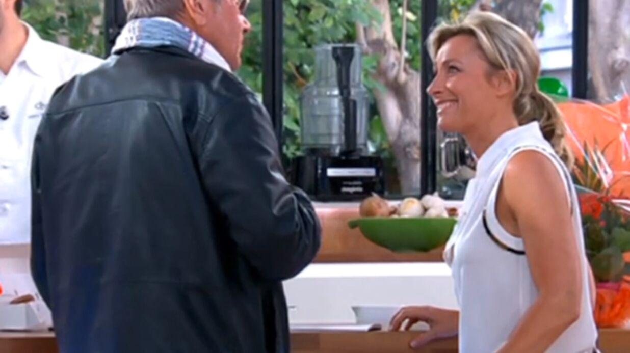 VIDEO Yves Rénier met mal à l'aise Anne Sophie Lapix avec sa «tondeuse à foufoune»